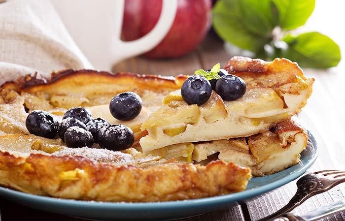 Alkaline Breakfast Recipes - Apple Pancakes