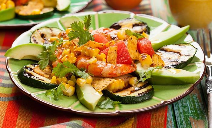 Alkaline Breakfast Recipes - Avocado Breakfast Salad