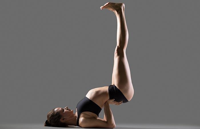 Viparita Karani - Yoga for cold