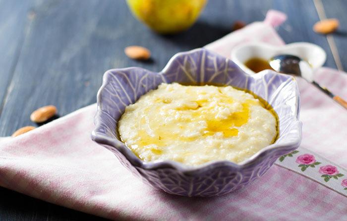 Alkaline Breakfast Recipes - Maple Millet Porridge