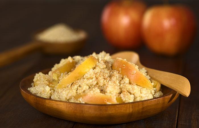 Alkaline Breakfast Recipes - Quinoa And Apple Breakfast