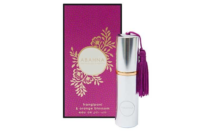 Natural Perfumes For Women - Abahna Frangipani And Orange Blossom