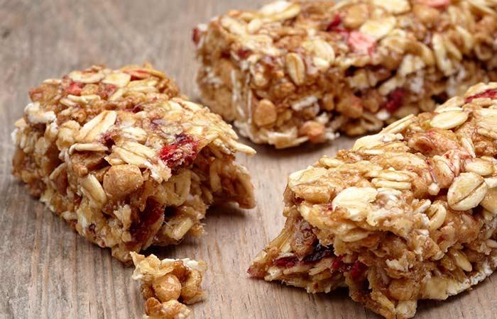 Food High In Sugar - Granola Bar