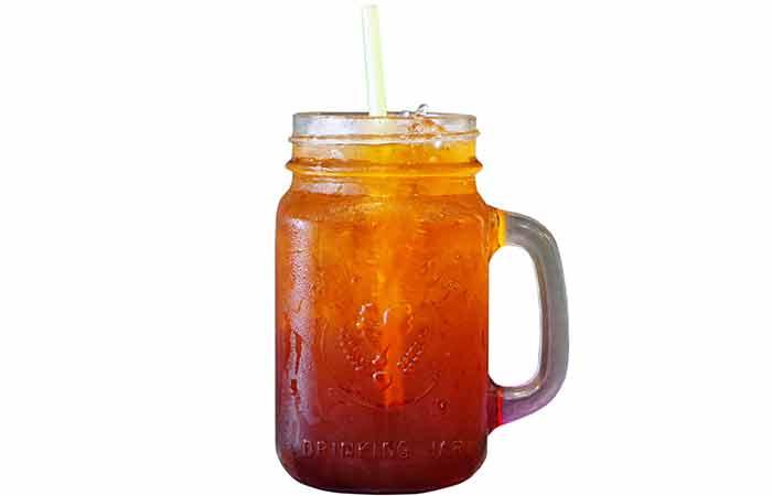 Foods High In Sugar - Iced Tea