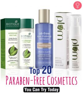 Top 20 Paraben-Free Cosmetics You Can Try Today