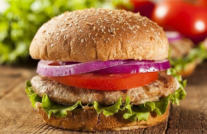 Low Calorie Dinner Recipes - Turkey Burgers