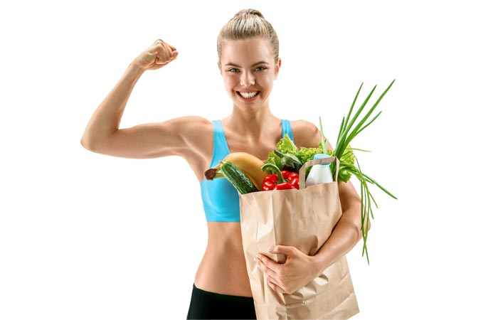 3. Have Five Types Of Veggies And Three Types Of Fruits