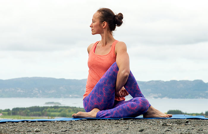 Yoga for Detox - Half Spinal Twist Pose