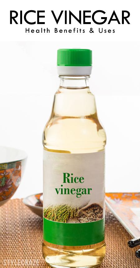 Benefits Of Rice Vinegar