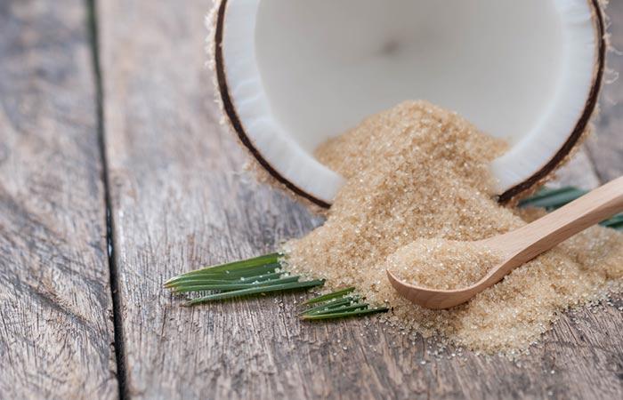 1. Brown Sugar And Coconut Oil Scrub For Acne
