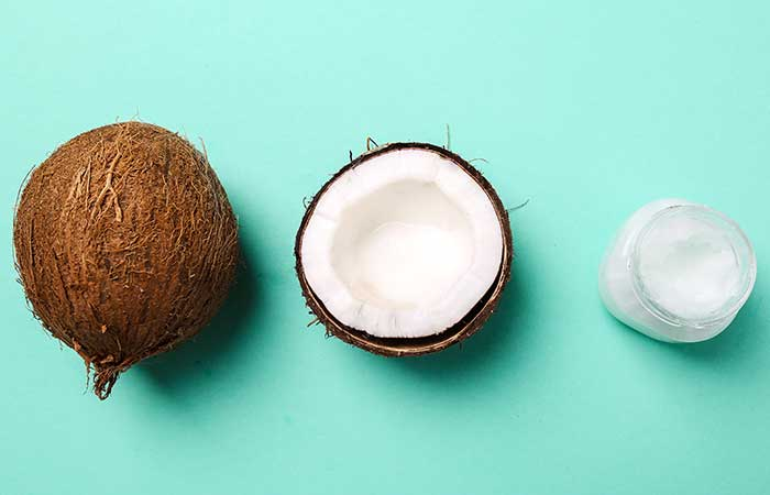 2. Coconut Oil And Olive Oil For Dry Hair