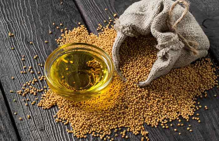 8. Mustard Oil