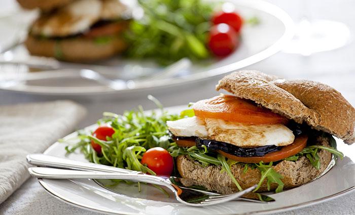 Eggplant-And-Mozzarella-Sandwich