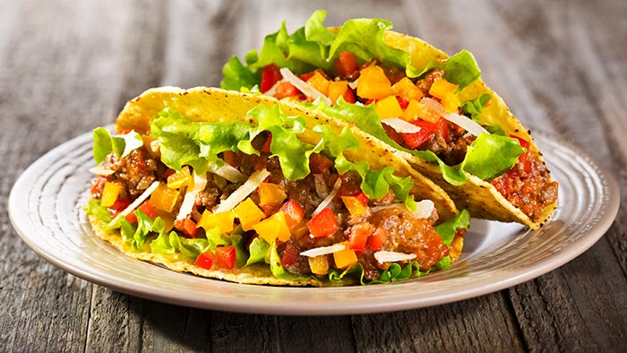 Healthy Sandwiches For Weight loss - Taco Salad Sandwich