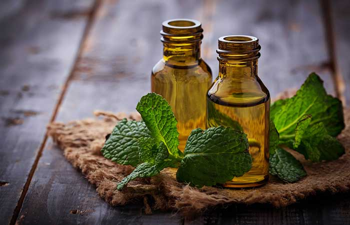 b. Peppermint Oil
