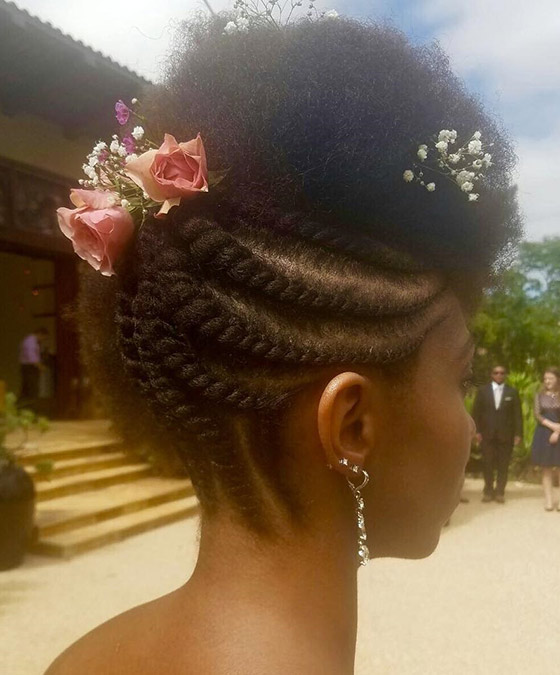11.-Twisted-Cornrows-Floral-Updo