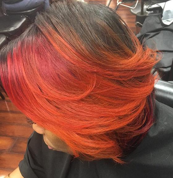 Fiery-Orange-Feathered-Bob