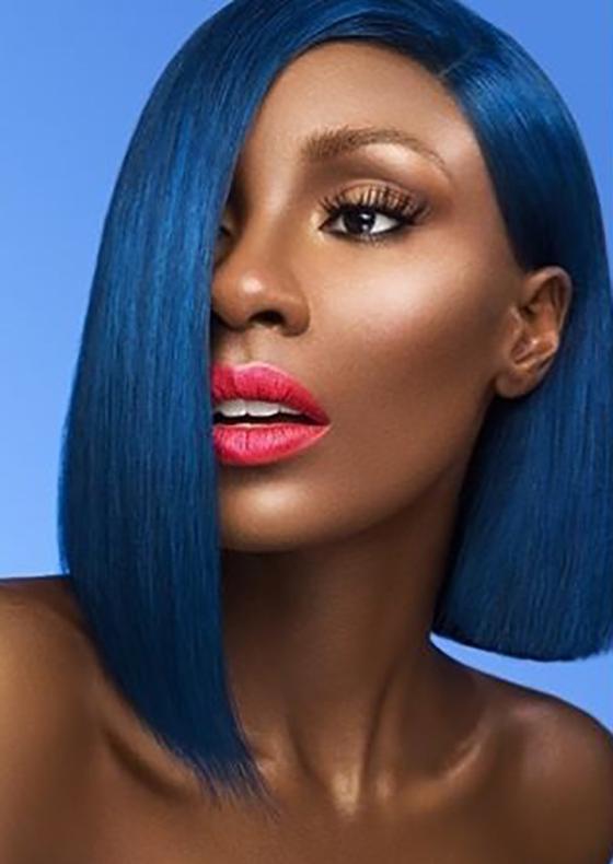 Indigo-Blue-Asymmetrical-Bob