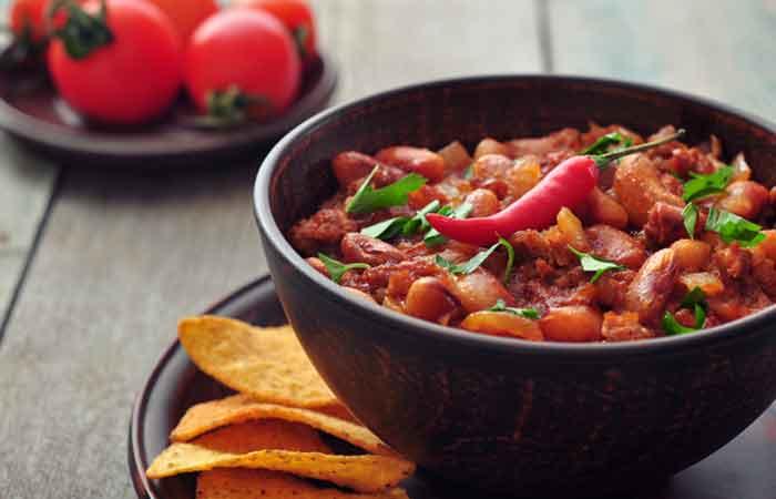 Vegetarian-Kidney-Beans-Chilli