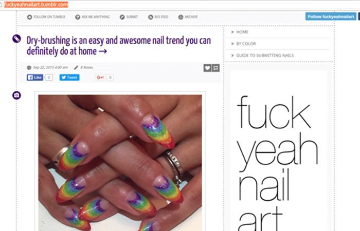 Fuck Yeah Nail Art