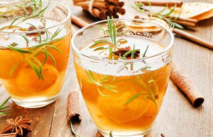Detox Drinks - Rosemary Infused Cinnamon Water