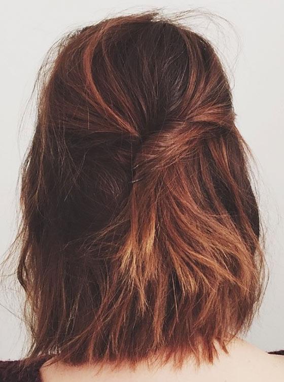 Unique Twisted Hairdo