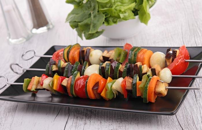 Vegetable-Kebab