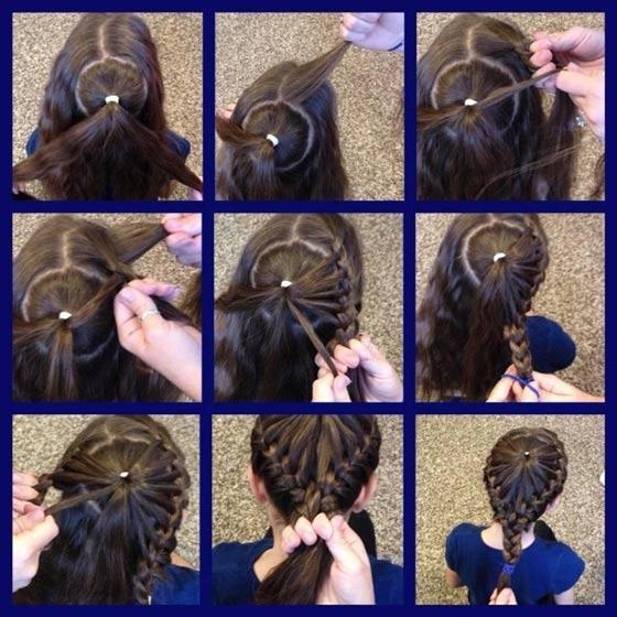 40 top hairstyles for women with thick hair pinwheel braided hairdo solutioingenieria Gallery