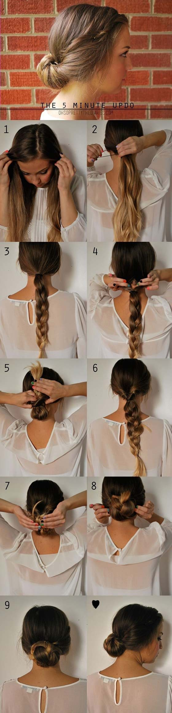 The Braided Hair Updo