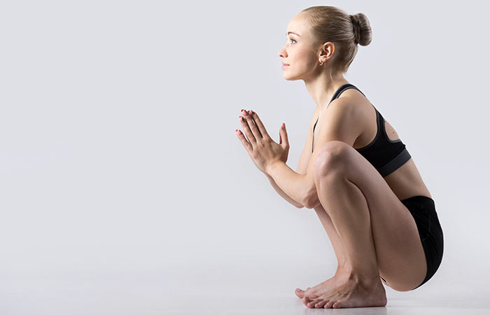 Yoga For Thighs And Hips - Malasana