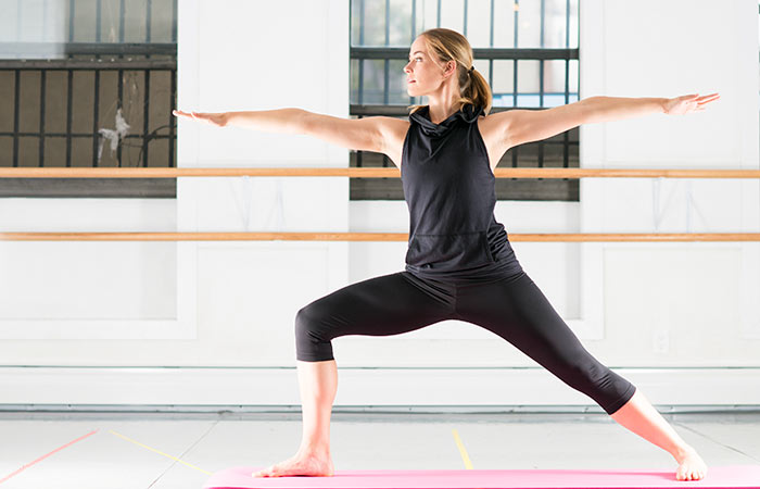 Yoga For Thighs And Hips - Virabhadrasana II