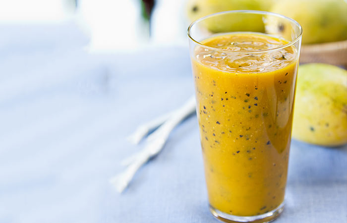 Passion Fruit And Cucumber Detox Smoothie
