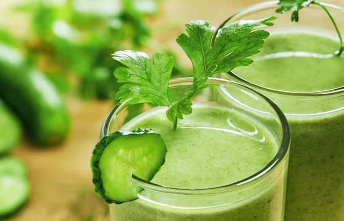 Spinach Cucumber Cooling Detox Smoothie