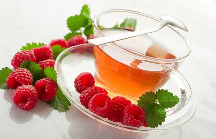 7.-Raspberry-Tea-To-Stop-Period
