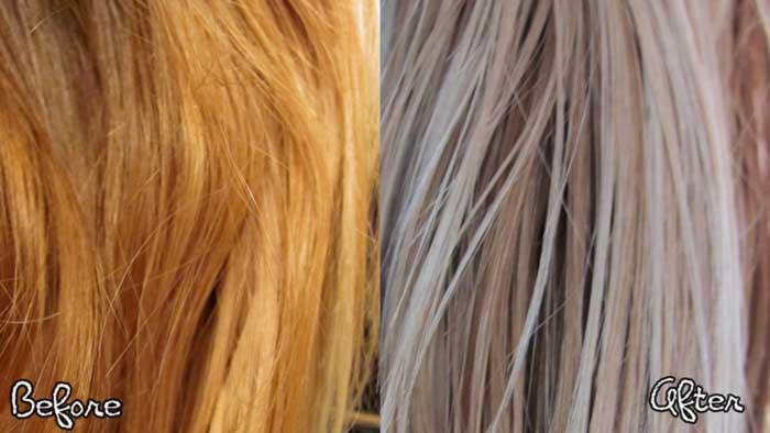 How To Fix Orange Hair With Toner Pinit