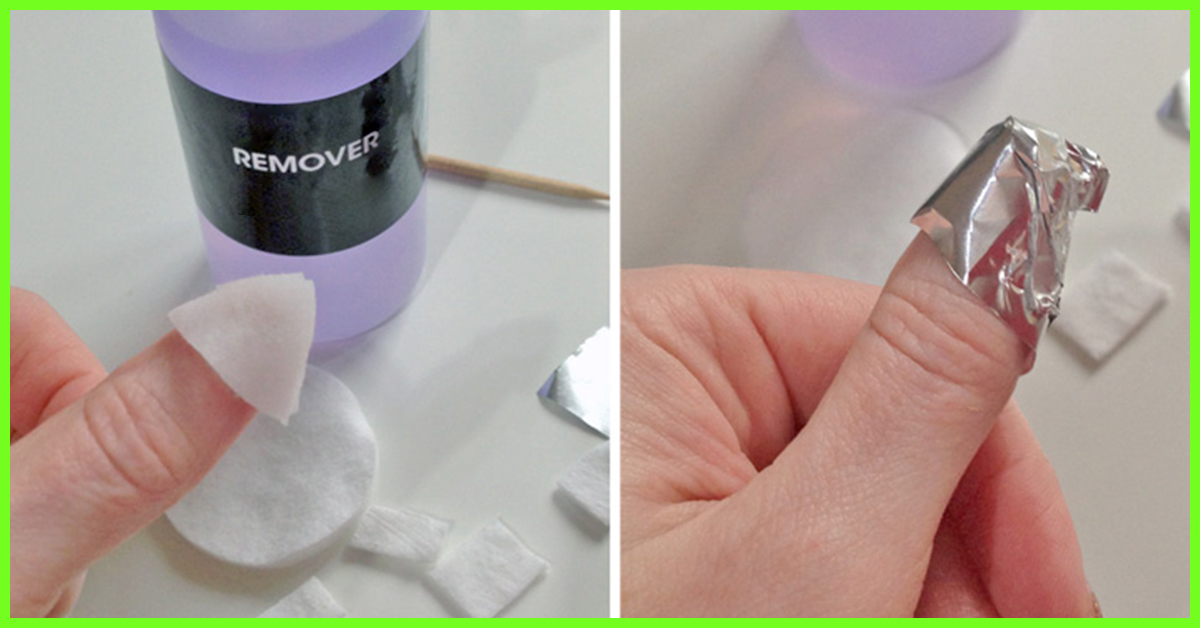How to remove gel nail polish with and without acetone at home solutioingenieria Images