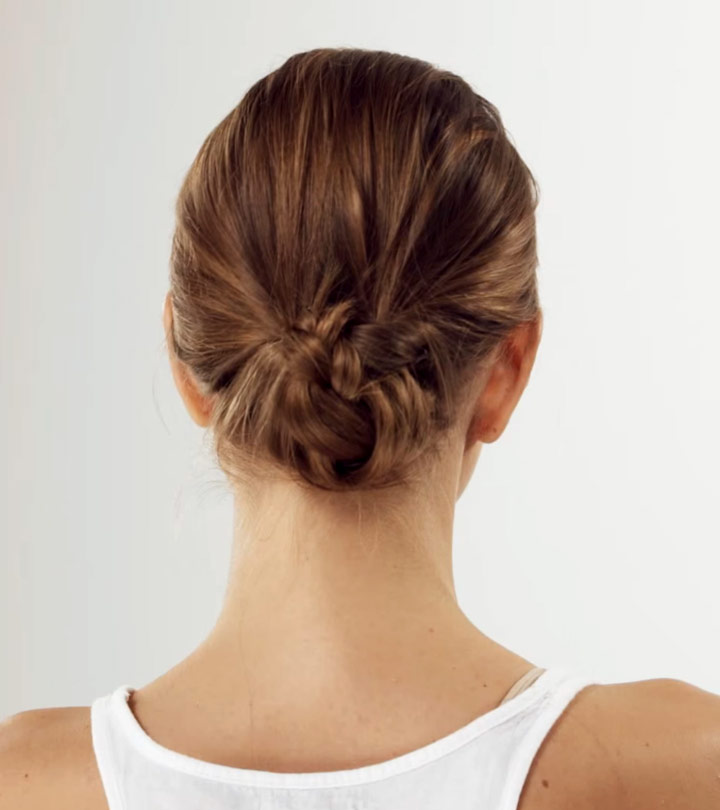 How To Do The Perfect Low Bun – A Step-By-Step Tutorial
