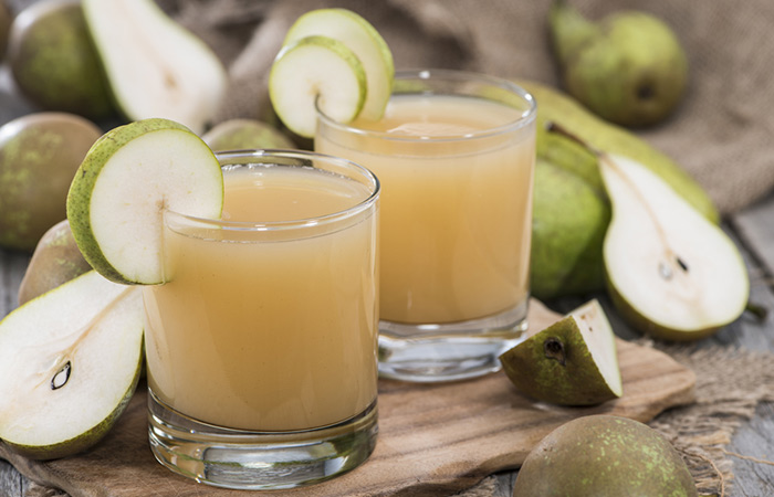 Juices To Treat Constipation - Pear Juice For Constipation