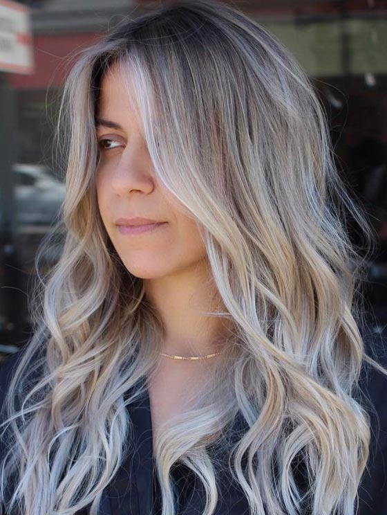 30 ash blonde hair color ideas that youll want to try out right away 5 ash blonde root melt solutioingenieria Images