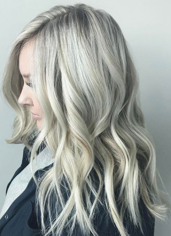 30 ash blonde hair color ideas that youll want to try out right away platinum ash blonde solutioingenieria Images