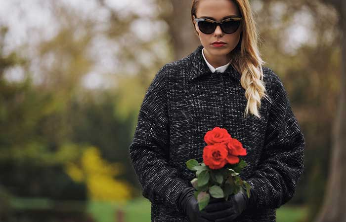 What To Wear To A Funeral - Sunglasses