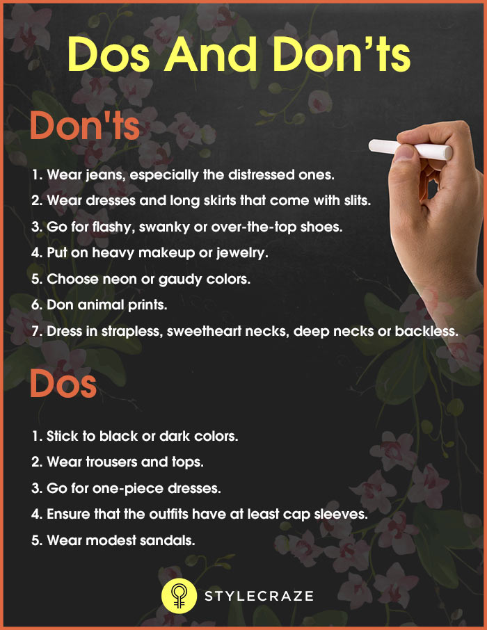 What To Wear To A Funeral - Dos and Don'ts