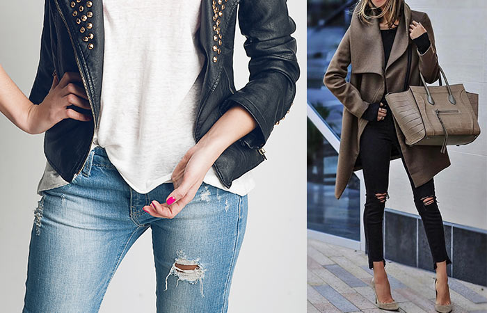 How To Make Ripped Jeans - Remove The Threads