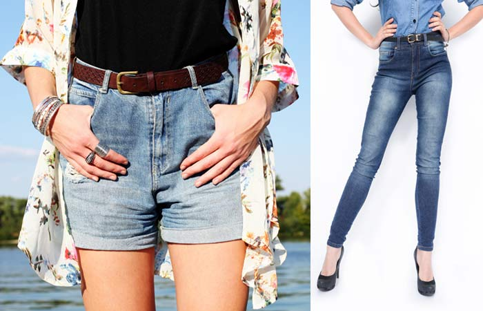 How To Make Ripped Jeans - Select A Jeans Or Shorts
