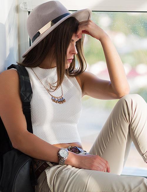 How To Wear A Crop Top - Crop Top As A Formal Shirt