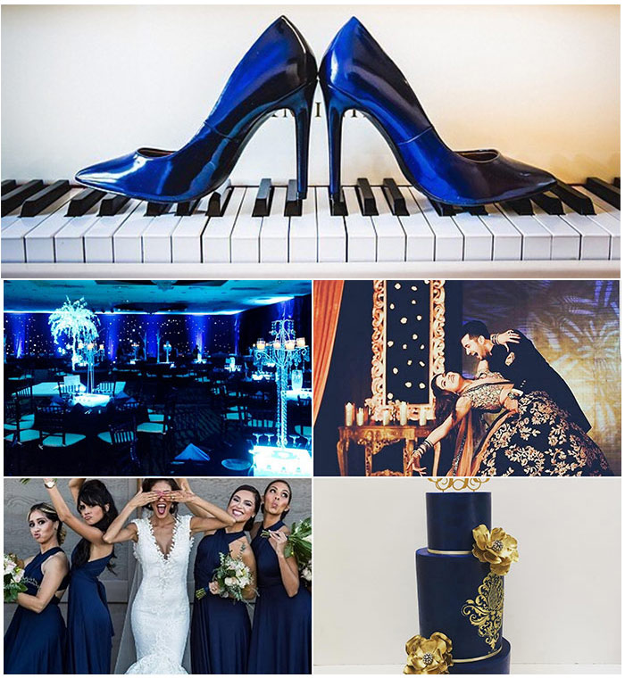8. Navy Blue Color Combination