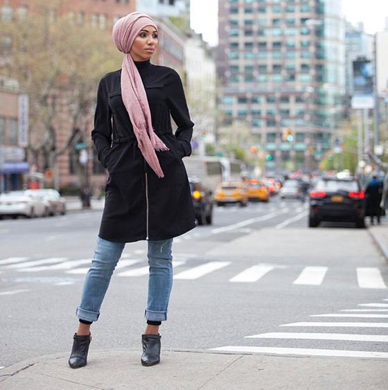 Hijab Style For Jeans