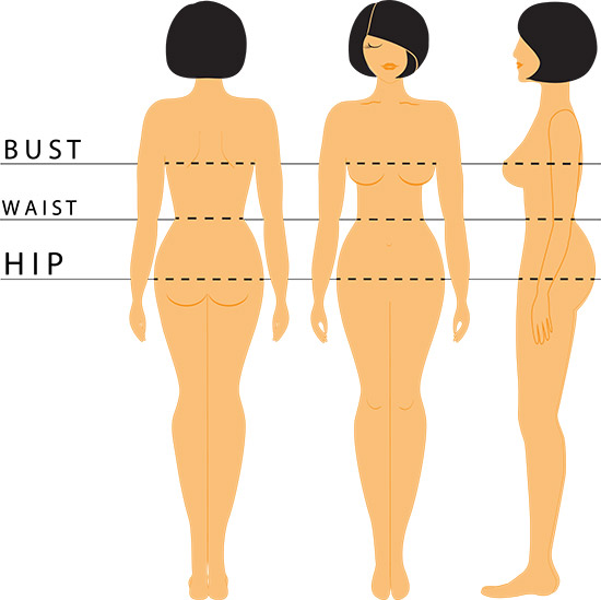 How To Dress According To Your Body Type - How To Determine Your Body Shape - With Measurements