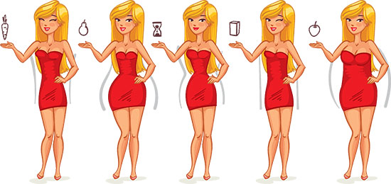 How To Dress According To Your Body Type - How To Determine Your Body Type And Dress Accordingly - The Body Shape Guide