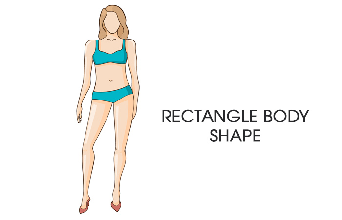 how to dress according to your body type - Rectangle-Body-Shape